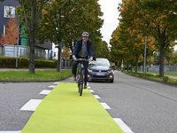 Neue Radschutzstreifen in Offenburg sto�en auf Skepsis