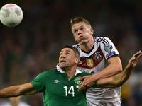 Bittere Niederlage f�r das DFB-Team gegen Irland