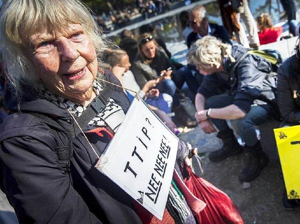 Die Kritiker der Abkommen befürchten eine Aushöhlung europäischer Regeln und ein Absenken von ökologischen, sozialen und Verbraucherstandards.