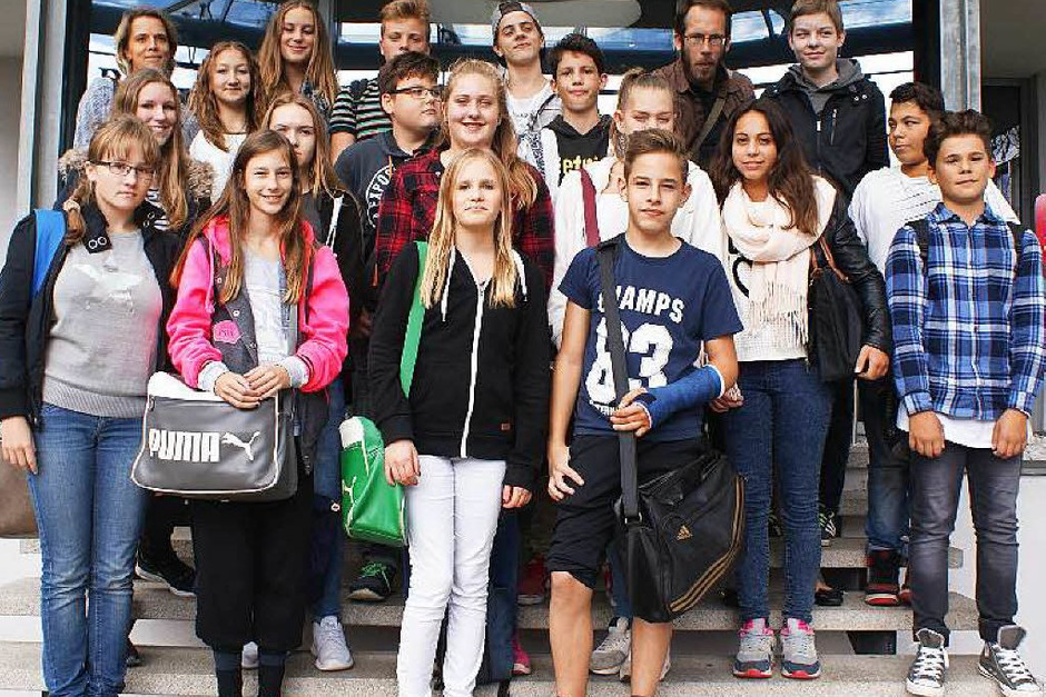 Klasse 8b, Julius-Leber-Schule, Breisach (Foto: Andrea Bühler)