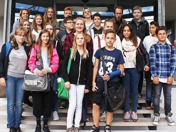 Klasse 8b, Julius-Leber-Schule, Breisach