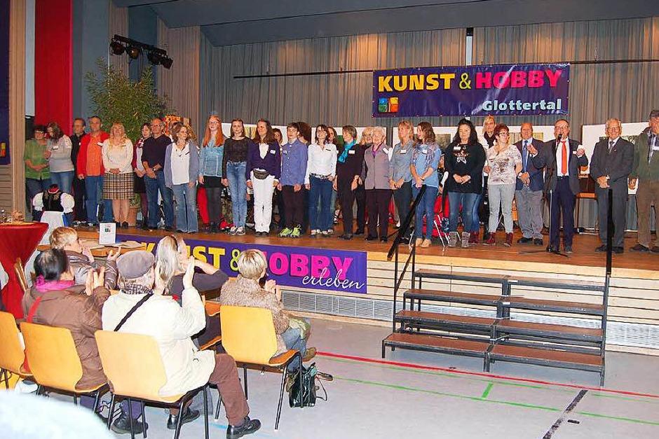 Kunst- und Hobbyausstellung in Glottertal (Foto: Christian Ringwald)