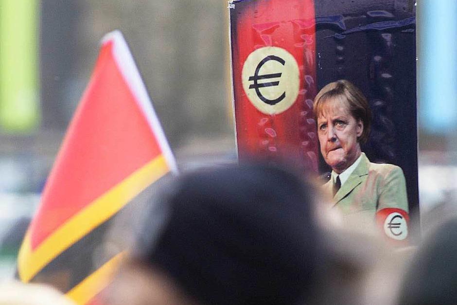 Pegida-Kundgebung (Foto: AFP)