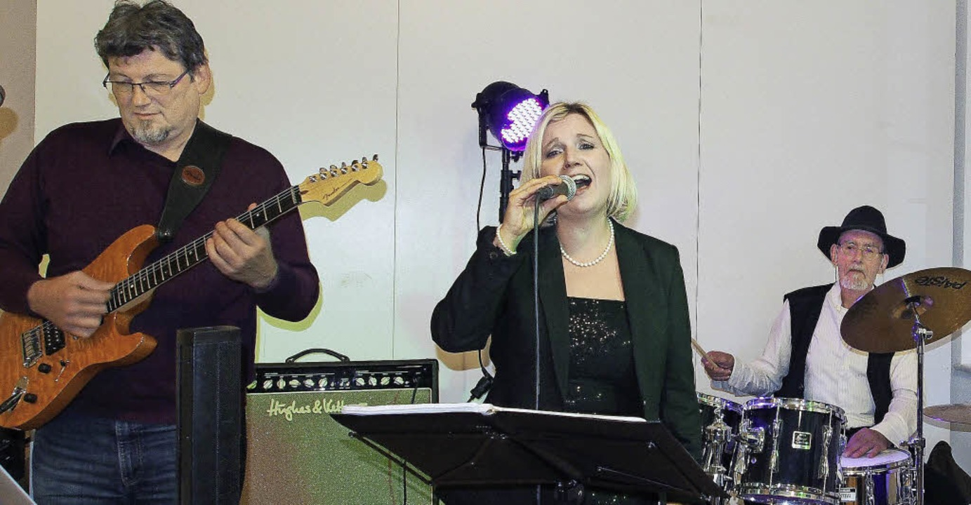 Rudis Band sorgte nach dem offiziellen Teil für Stimmung.    Foto: Boris Burkhardt