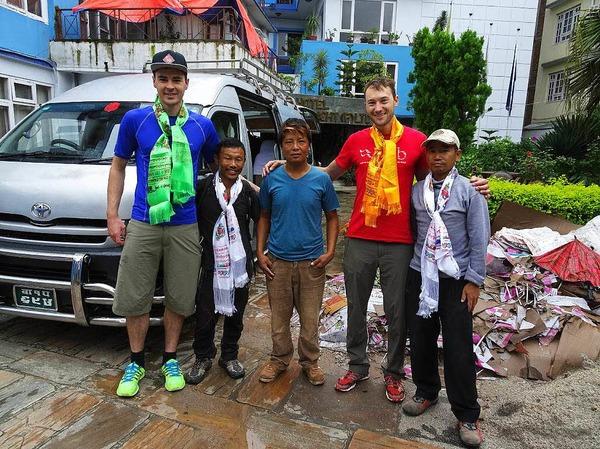Raphael Holubarsch und Martin Sieferman besteigen den Manaslu im Himalaya