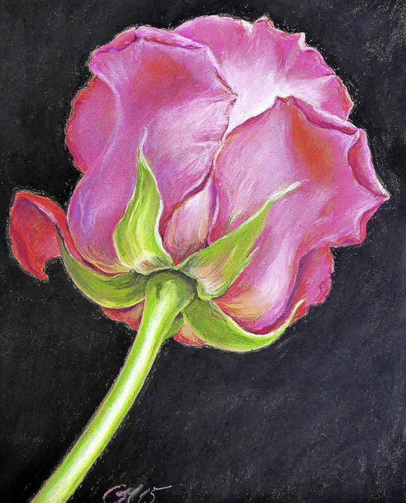 festliche malerei ist der ansto f r ein jahr der rosen. Black Bedroom Furniture Sets. Home Design Ideas
