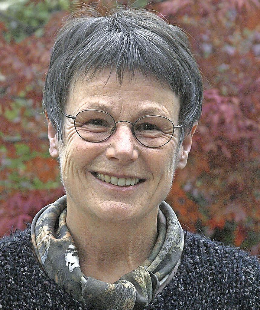 Innere Ruhe strahlt Kontemplationslehrerin <b>Regine Weiß</b> aus Foto: Karin <b>...</b> - 112962150