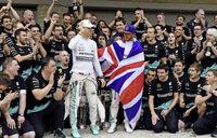 Rosberg Qual nach Hamiltons WM-Triumph