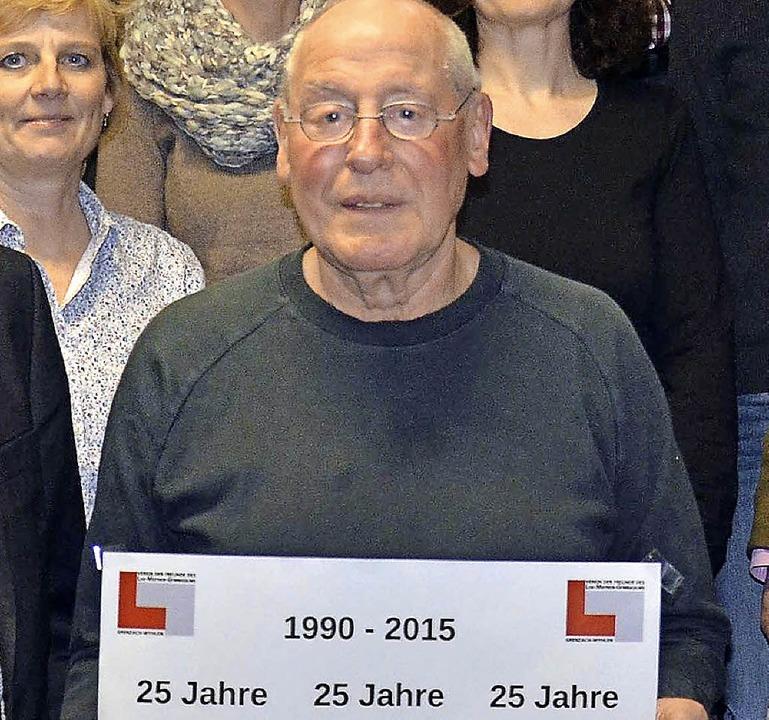 Im 25. Jahr seines Bestehens veranstal...Hier der Vorsitzende Manfred Grether.   | Foto: Weber-Kroker
