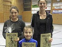 Alisa und Anne Lais feiern Doppelsieg