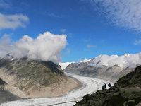 Sommer zu trocken, Gletscher b��en an Masse ein