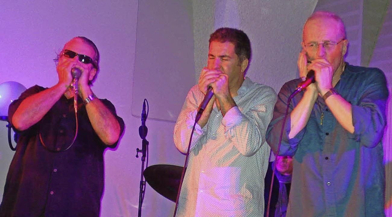 Kashmar,  Cumellas und  Baker (von links)     Foto: Adrian Steineck