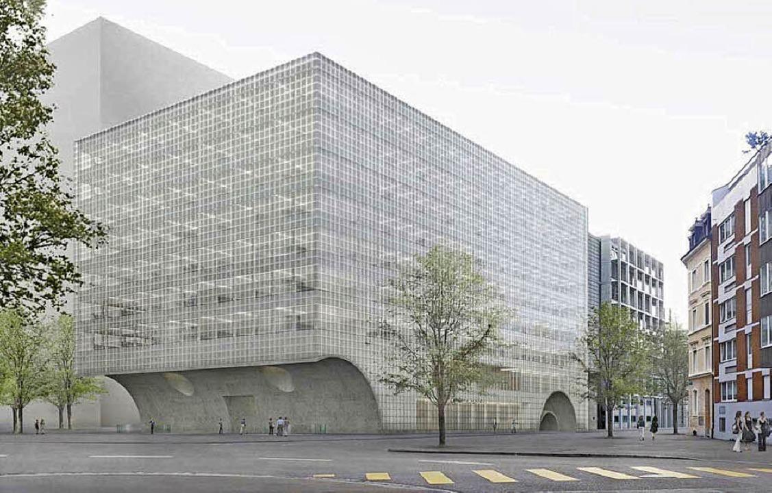 Neue architektur f r die forschung basel badische zeitung - Neue architektur ...