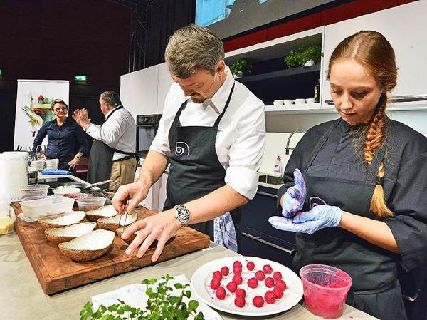 Impressionen von der BZ-Genussnacht bei der Plaza Culinaria in Freiburg