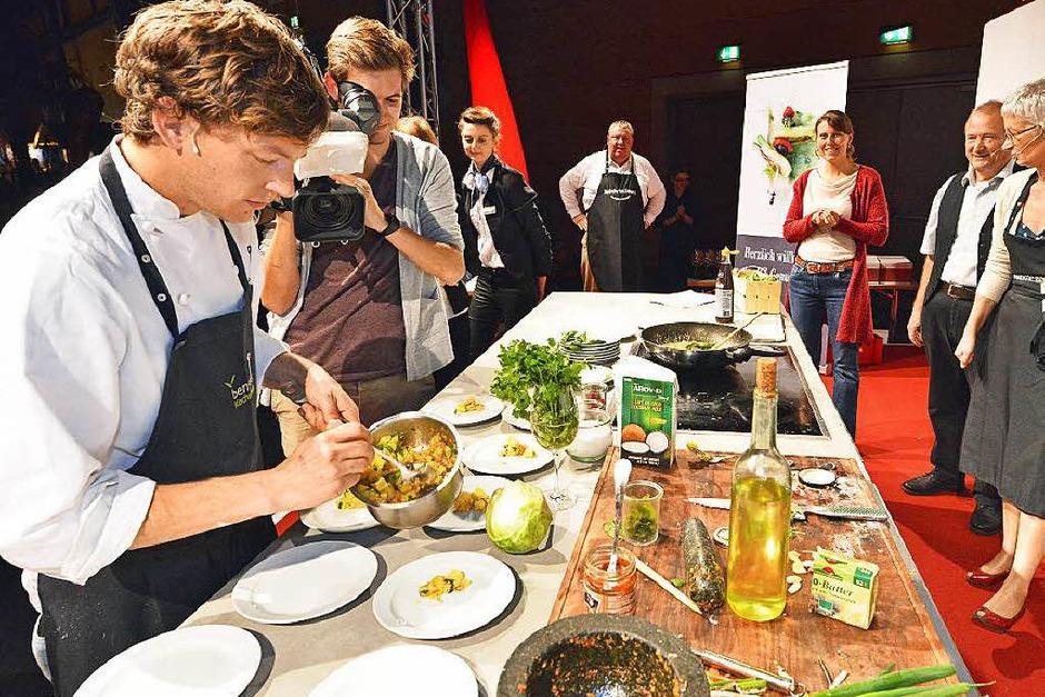 Impressionen von der BZ-Genussnacht bei der Plaza Culinaria in Freiburg (Foto: Michael Bamberger)