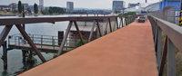 Der Rheinuferweg rückt jetzt wieder näher