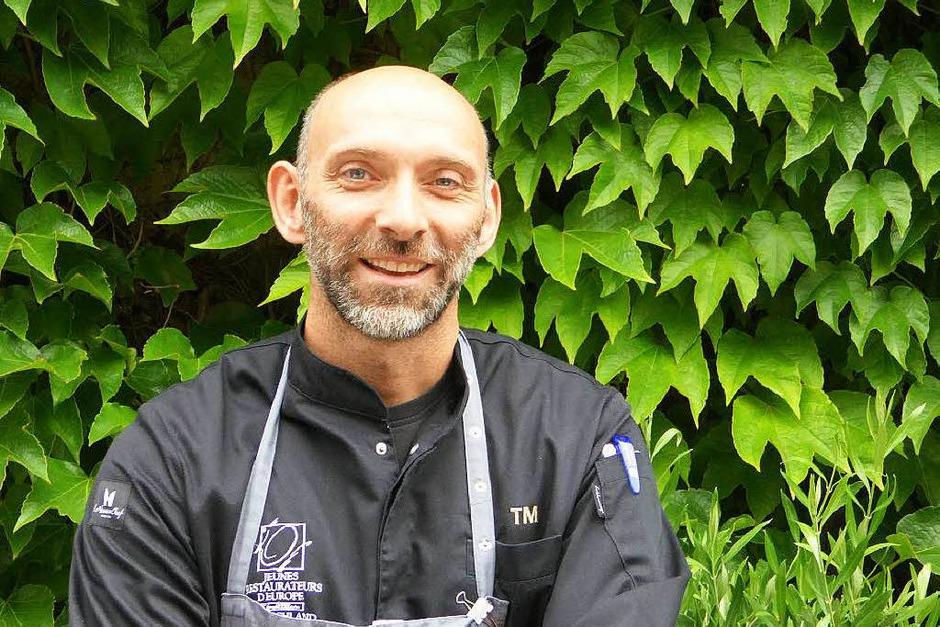 Thomas Merkle konnte in seinem Endinger Restaurant den Stern verteidigen. (Foto: Caroline Szulakowski)