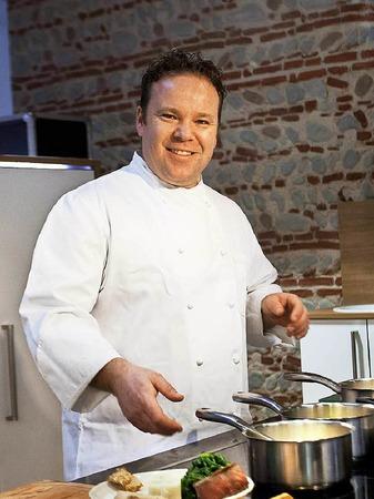 Christoph Fischer ist Küchenchef der mit einem Stern prämierten Zirbelstube im Freiburger Colombihotel.