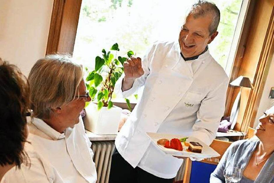 Küchenchef Gutbert Fallert vom gleichnamigen Restaurant in Sasbachwalden überzeugte die Testesser von Michelin erneut. Wieder gibt es einen Stern. (Foto: privat)