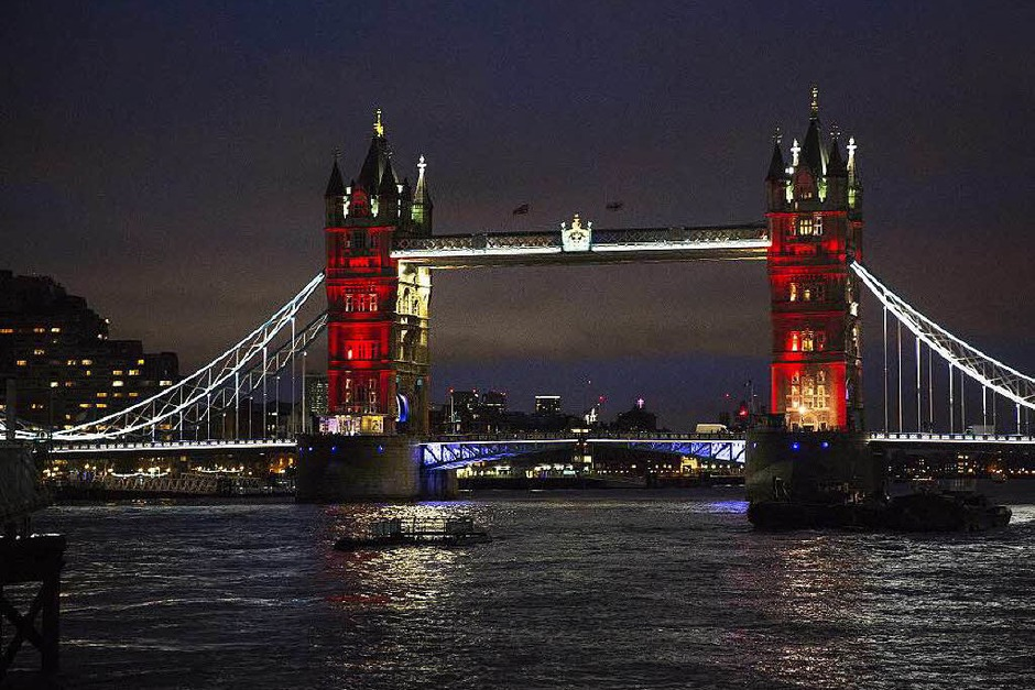 Tower Bridge in London. (Foto: dpa)