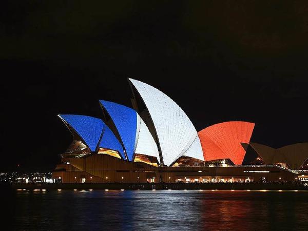 Die Oper in Sydney.