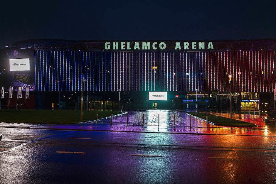 Die Ghelamco Arena  im belgischen Gent. (Foto: AFP)