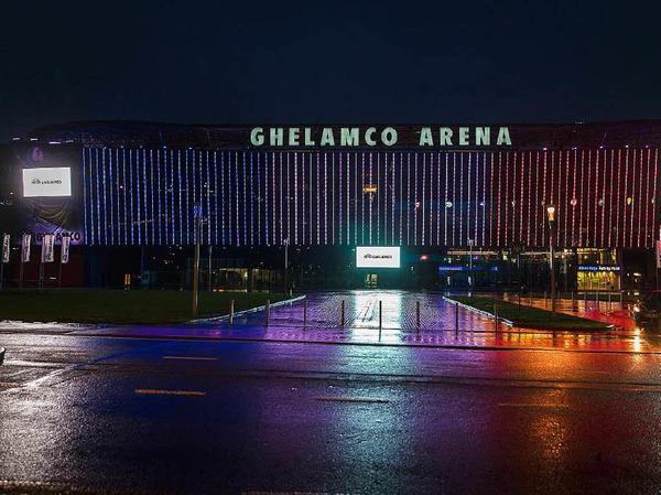 Die Ghelamco Arena  im belgischen Gent.