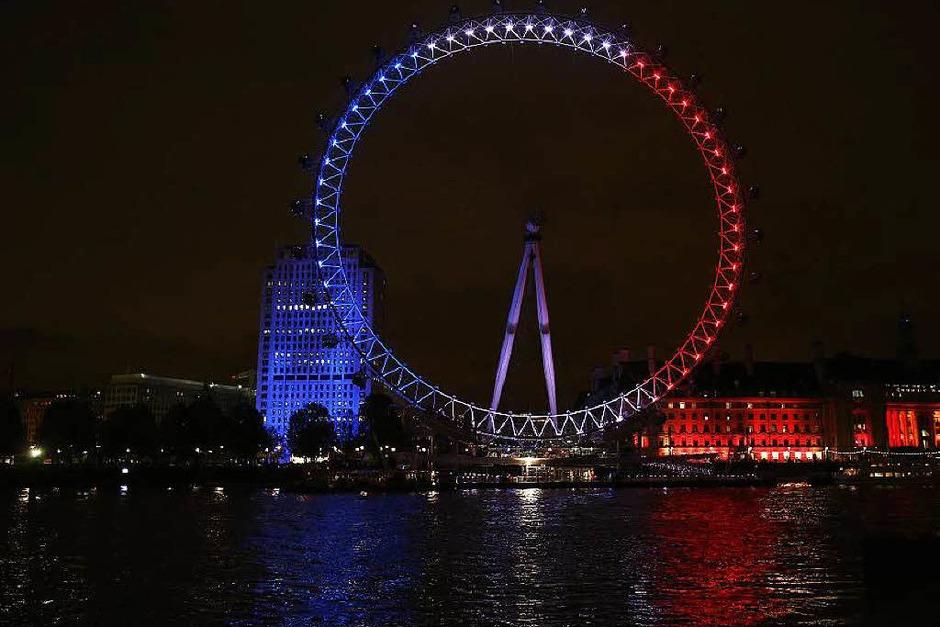 Das Millenium Wheel in London ist das größte Riesenrad Europas. (Foto: AFP)