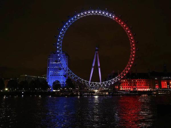 Das Millenium Wheel in London ist das größte Riesenrad Europas.