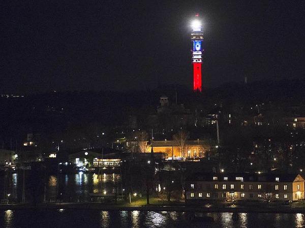 Schwedischer Fernsehturm Kaknastornet