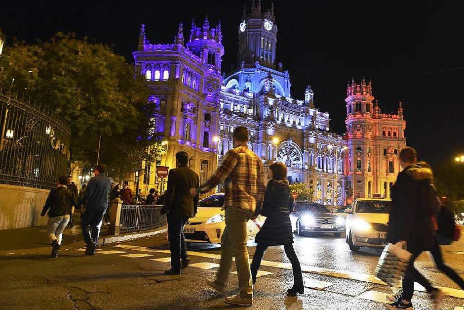 Madrid. (Foto: AFP)