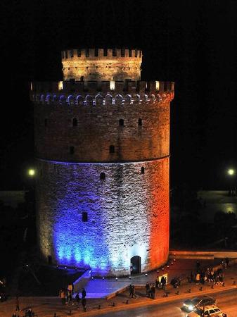 Thessaloniki in Griechenland.