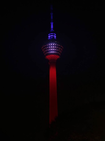 Der KL Tower in Kuala Lumpur