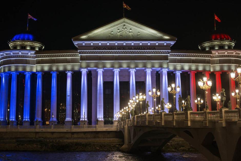 Das Archäologische Museum in Skopje, Mazedonien (Foto: AFP)