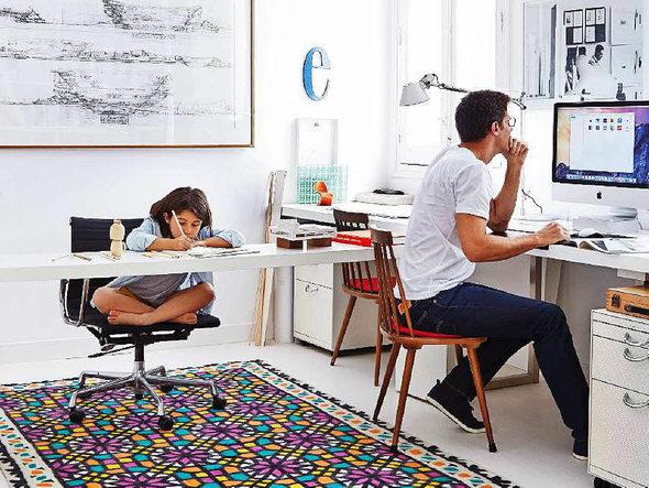 wie das home office perfekt gestaltet werden kann beruf karriere badische zeitung. Black Bedroom Furniture Sets. Home Design Ideas