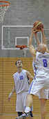 Sieg und Niederlage f�r Basketballer
