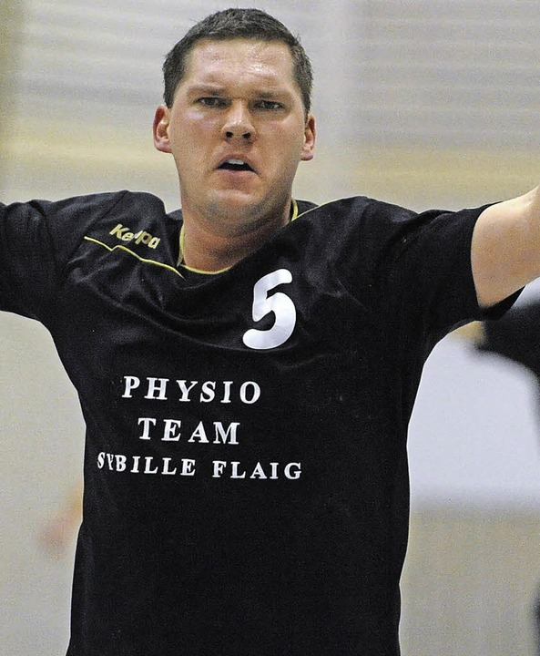 Klappt's auch gegen St. Georgen ...orjubel? HSG-Handballer Simon Stecher   | Foto: Keller