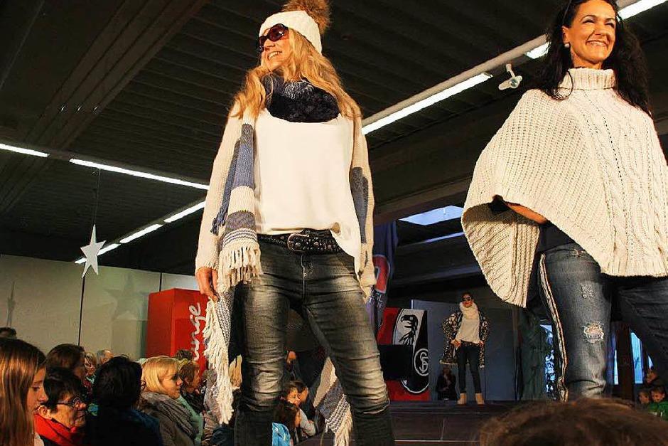Mode war gefragt und die Modenschauen einmal mehr wahre Publikumsmagnete. (Foto: Christiane Franz)