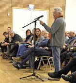 B�rgerversammlung in Hartheim: Verkehrsl�rm als Hauptthema
