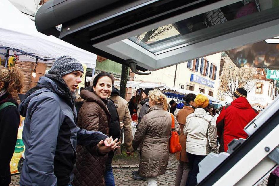 Buntes Markttreiben herrschte beim Katharinenmarkt-Sonntag 2016 in Seelbach. (Foto: Heidi Foessel)