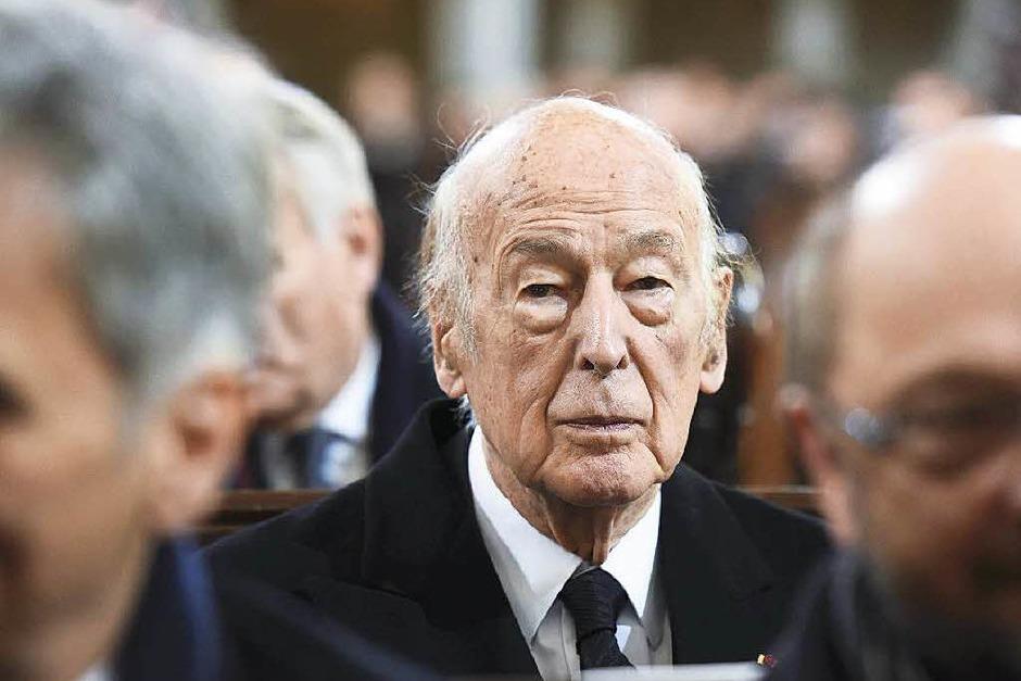 Mit Frankreichs Ex-Präsident Valery Giscard d'Estaing verband Schmidt eine enge Freundschaft. Die beiden Staatschefs brachten in den Siebzigern den europäischen Integrationsprozess voran. (Foto: dpa)