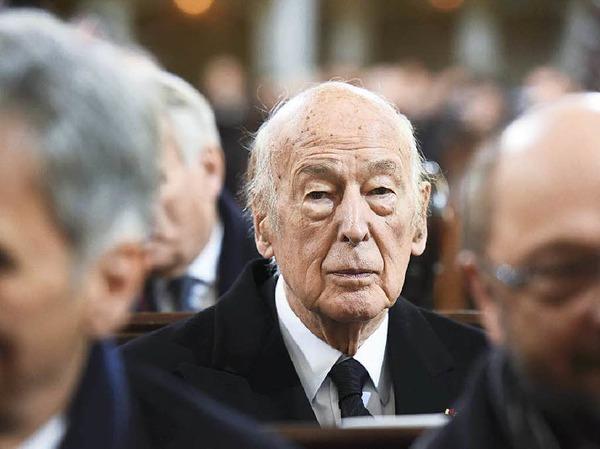 Mit Frankreichs Ex-Präsident Valery Giscard d'Estaing verband Schmidt eine enge Freundschaft. Die beiden Staatschefs brachten in den Siebzigern den europäischen Integrationsprozess voran.