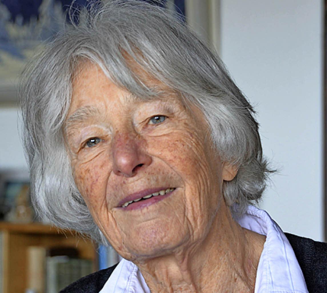 Anneliese Jung feiert ihren 90 Geburtstag. Foto: Maldacker - 114009190