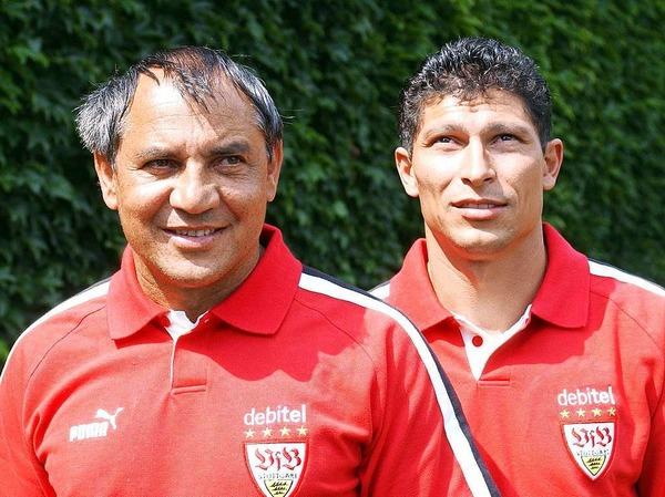 Im Juli 2003 holte Magath den früheren VfB-Spieler  Krassimir Balakov als Assistenten.