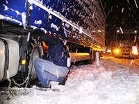 Schneefall bremst Verkehr im Hochschwarzwald aus