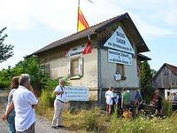 Bahn erstattet Anzeige gegen eine B�rgerinitiative in Auggen