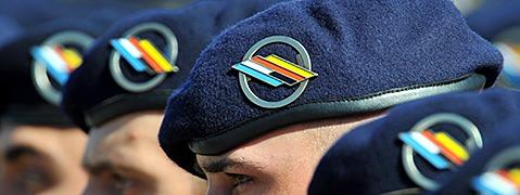 Soldaten der M�llheimer Brigade brechen nach Mali auf