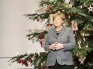 Ein Weihnachtsbaum f�r die Kanzlerin