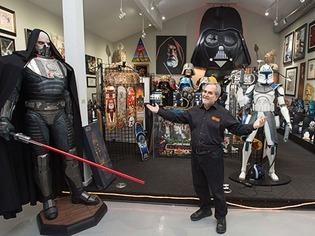 Dieser Mann hat die gr��te private Star-Wars-Sammlung der Welt