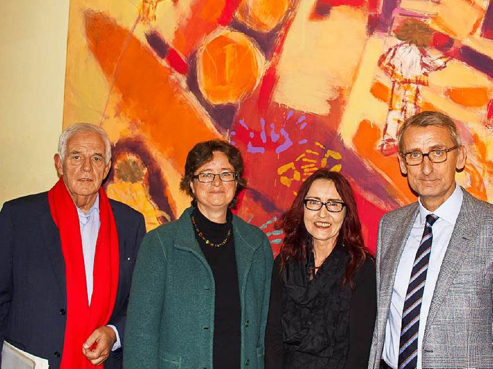 Rainer Stickelberger, Heike Hauk, Ellen Esen, Armin Schuster (von links)  | Foto: Ansgar Taschinski